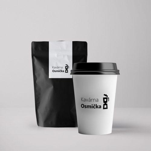 Kelímek + sáček kávy