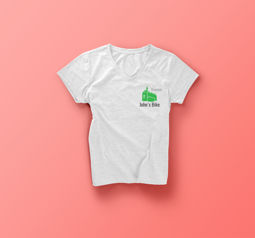 Woman Marl T shirt Front