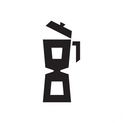 Kavárna Osmička logotyp v